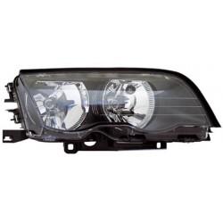 Faro anteriore sinistro nero BMW Serie 3 E46 98-01