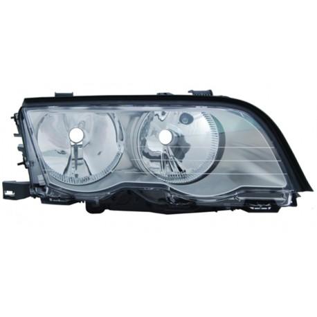 Faro anteriore destro titanio BMW Serie 3 E46 98-01