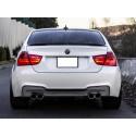 Paraurti posteriore BMW E90 M1 Look doppia uscita