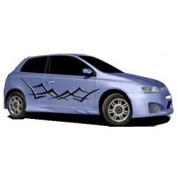 Minigonne laterali sottoporta Fiat Stilo 3 p.
