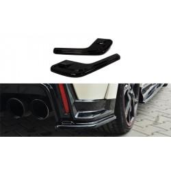 Sottoparaurti splitter laterali posteriori Honda Civic IX Type R 2015-