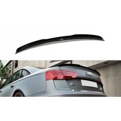 Estensione spoiler Audi A6 C7 S-Line Berlina 2011-
