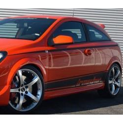 Minigonne laterali sottoporta Opel Astra H