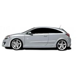 Minigonne laterali sottoporta Opel Astra H GTC