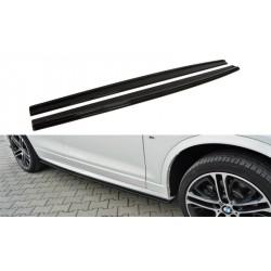 Lama sottoporta BMW X4 M-Pack 2014-