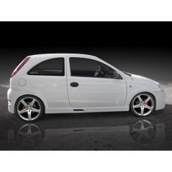 Minigonne laterali sottoporta Opel Corsa C