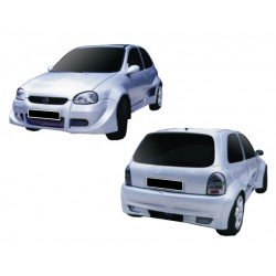 Allargamenti parafanghi per Opel Corsa B