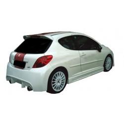 Minigonne laterali sottoporta Peugeot 207