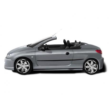 Minigonne laterali sottoporta Peugeot 206 CC Exception