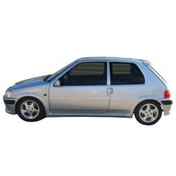 Minigonne laterali sottoporta e parafanghi Peugeot 106