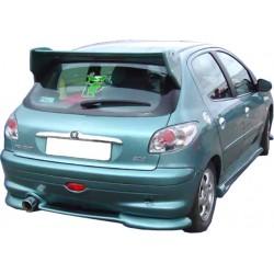 Spoiler sottoparaurti posteriore Peugeot 206