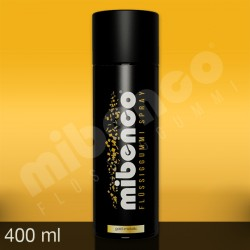 Gomma liquida spray per wrapping oro metalizzato, 400 ml
