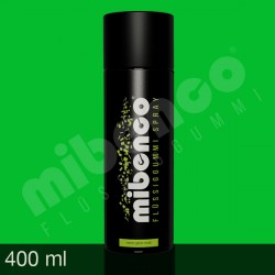 Gomma liquida spray per wrapping neon verde, 400 ml