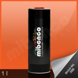 Gomma liquida spray per wrapping arancione lucido, 1 l