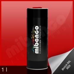 Gomma liquida spray per wrapping rosso lucido, 1 l