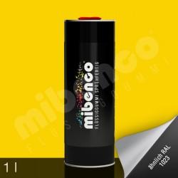 Gomma liquida spray per wrapping giallo opaco, 1 l