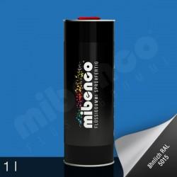 Gomma liquida spray per wrapping azzurro opaco, 1 l