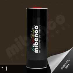 Gomma liquida spray per wrapping marrone opaco, 1 l
