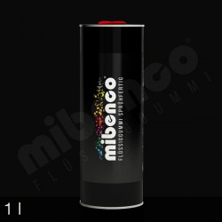 Gomma liquida spray per wrapping nero opaco, 1 l
