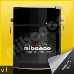 Gomma liquida spray per wrapping giallo lucido, 5 l