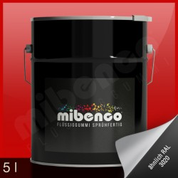 Gomma liquida spray per wrapping rosso lucido, 5 l