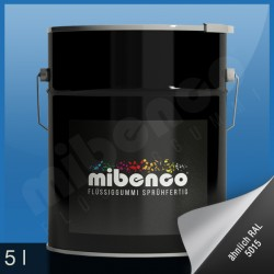 Gomma liquida spray per wrapping azzurro lucido, 5 l