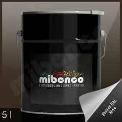 Gomma liquida spray per wrapping marrone lucido, 5 l