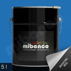 Gomma liquida spray per wrapping azzurro opaco, 5 l