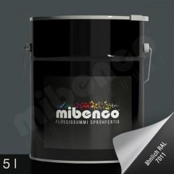 Gomma liquida spray per wrapping grigio opaco, 5 l
