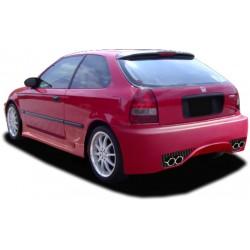 Paraurti posteriore Civic 98 Hatchback Silver