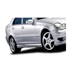 Minigonne laterali sottoporta Mercedes Classe C W203 AKG