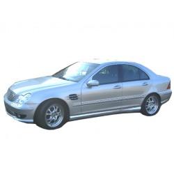 Minigonne laterali sottoporta Mercedes Classe C W203 AMG