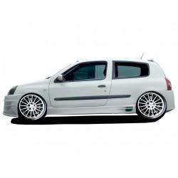 Minigonne laterali sottoporta Renault Clio 02 Nitro