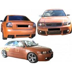 Kit estetico completo Audi A4 00-04 RS