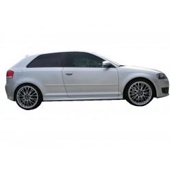 Minigonne laterali sottoporta Audi A3 04 S3