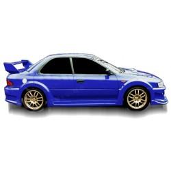 Minigonne laterali sottoporta Subaru Impreza Hulk Wide