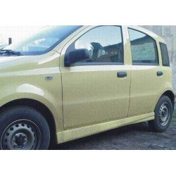 Minigonne laterali sottoporta Fiat Panda