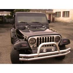 Allargamenti parafanghi anteriori e posteriori Jeep Wrangler TJ
