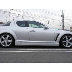 Minigonne laterali sottoporta Mazda RX8