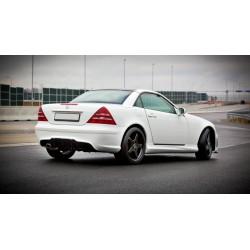 Minigonne laterali sottoporta Mercedes SLK R170 AMG 204 Look