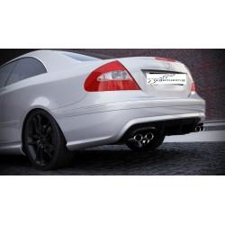 Paraurti posteriore Mercedes CLK 209 Black series Look