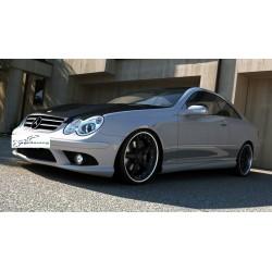 Minigonne laterali sottoporta Mercedes CLK 209 AMG Look