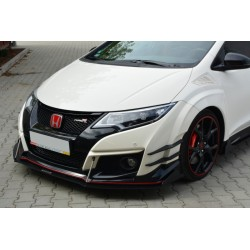 Flaps aerodinamici racing Honda Civic IX Type R 2015-