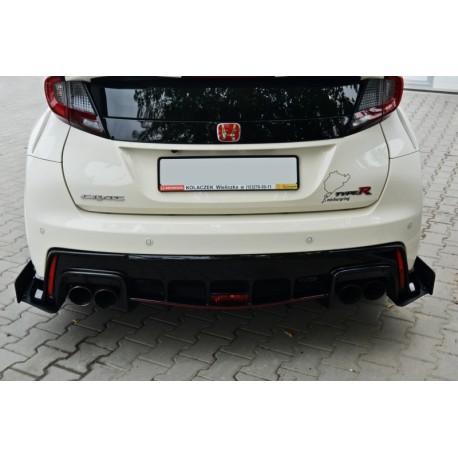 Flaps aerodinamici posteriori racing Honda Civic IX Type R 2015-