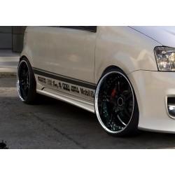 Minigonne laterali sottoporta Fiat Panda Racer