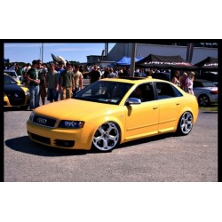 Strisce laterali sottoporta Audi A4 B6 RS4 Look