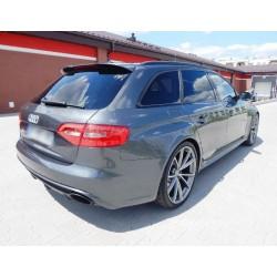 Spoiler alettone posteriore lunotto AUDI A4 B8 Avant 07+ RS4 Look