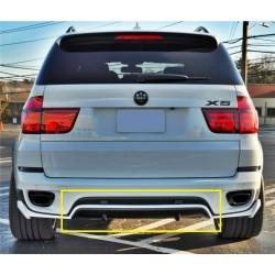 Spoiler sottoparaurti posteriore BMW X5 E70 LCI 10-13