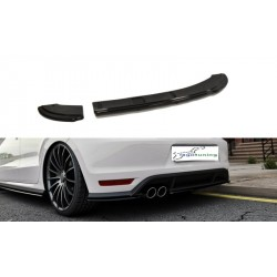 Sottoparaurti splitter posteriore Volkswagen Polo V GTI 2015-