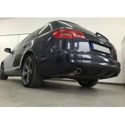Estrattore sottoparaurti posteriore Audi A6 C6 08-11 RS Look